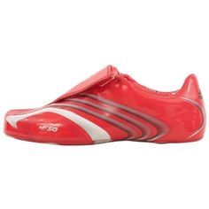SALE - Adidas F50.6 Soccer Cleats Mens Red Leather - Was $80.00 - SAVE $40.00. BUY Now - ONLY $39.99