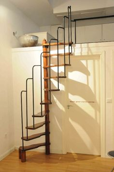 Stairs - Loft - I wonder if I could do something like this to make a loft in the attic?