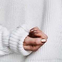 Rose gold nails | manicure | nail art | burga