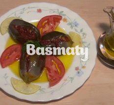 Makdous - المكدوس Baked Potato, Vegetarian Recipes, Middle, Potatoes, Baking, Ethnic Recipes, Food, Kitchens, Potato