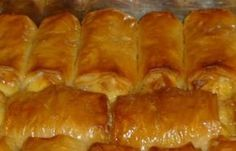 Greek Sweets, Greek Desserts, Greek Recipes, Cyprus Food, Food Network Recipes, Cooking Recipes, Graduation Party Foods, Sweet Corner, Greek Dishes