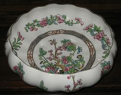 Coalport, Gardenia Bowl, Indian Tree.