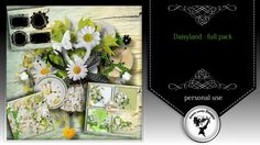Daisyland - full pack by Black Lady Designs - $8.44 : ScrapBird!, source for digital scrapbooking