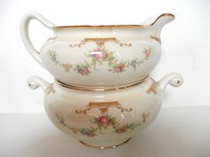 Hey, I found this really awesome Etsy listing at http://www.etsy.com/listing/169927455/homer-laughlin-cream-and-sugar-set