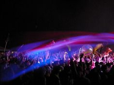Camp Bisco 2010   An amazing picture of colors with the camera
