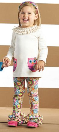 Mudpie, Tunic Leggings, Forest Friends, Hoodies, Sweatshirts, Kids Fashion, Infant, Owl, Granddaughters