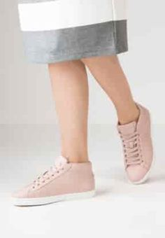 c6547902138f Lacoste - STRAIGHTSET - Baskets montantes - light pink