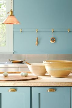Paint color predictions for 2021 are already rolling in. See the top trendy shades we know so far and check back to find out all the 2021 paint colors of the year as they're announced. #coloroftheyear #colortrends #paintcolor #painttrendsfor2021 #dreamhome #bhg Decor, Painting Cabinets, Colorful Interiors, Interior, Paint Colors For Home, Color, Paint Colors, Color Trends, Blue Paint Colors