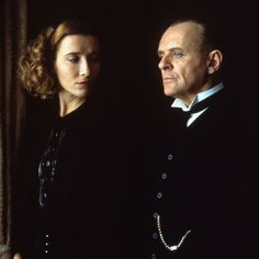 The Remains of the Day (1993). Directed by James Ivory and starring Anthony Hopkins and Emma Thompson.