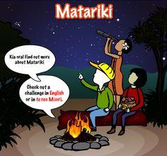 Matariki topic on Wicked