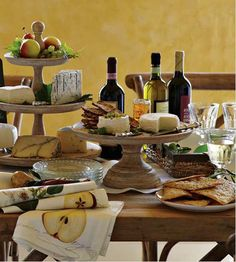 Having serious withdrawals of a wine and cheese party with friends! Think this needs to happen soon!!