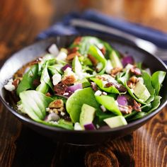 Think salads are healthy—but boring? Well, think again. Healthy, tasty salads...Try these healthy salad tips to...