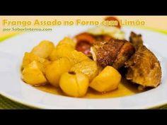 Aprenda a cozinhar a receita de Frango Assado no Forno com Limão. - Dicas Online