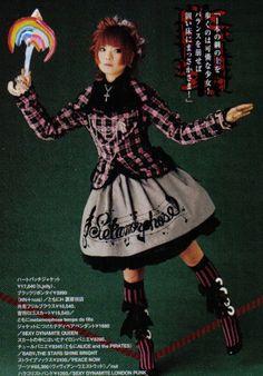Punk Lolita Model