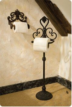 French toilet roll holder