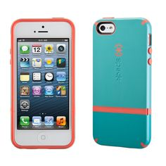 Innovative flip-back panel lets you easily dock your iPhone 5 without removing it from the case.