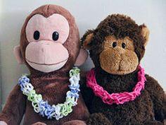 Finger Knit a Hawaiian Yarn Lei - wikiHow