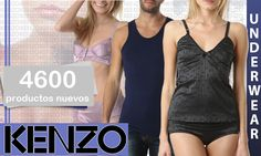 Aqui llegan desde KENZO 4600 referencias de ropa interior y baño, tanto para el como para ella. Date el gustazo........... Regalaselos