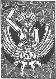 Lampião, o Magnífico- gravura