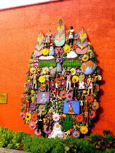 Fachada del Museo de las Culturas Populares