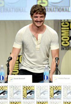 Pedro Pascal Photos: 'Game of Thrones' Panel at Comic-Con