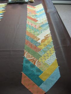 Hooked on Needles: Prayer Flag Friendship Braid Quilt ~ Getting Started