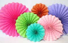 Hey, I found this really awesome Etsy listing at https://www.etsy.com/listing/192402877/hanging-paper-fans-rosettes-and-hanging