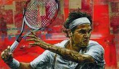 Roger Federer by Stephen Holland Tennis