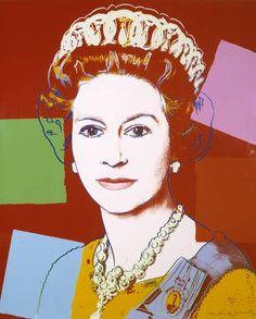Andy Warhol, Reigning Queens: Queen Elizabeth II, screenprint, 1985