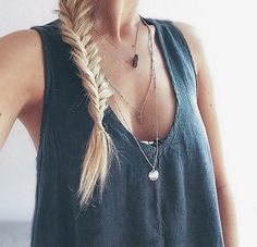 Fishtail plait - this makes me miss my long hair!