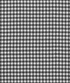 Premier Prints Large Houndstooth Black Fabric - $7.45 | onlinefabricstore.net