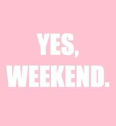 weekend #pinkfridays