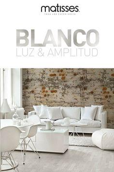 Ideas para decorar con el color blanco, más amplitud para tus espacios.