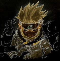 Naruto, cool art