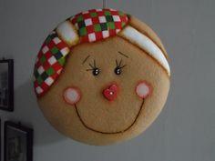 mogollas navideñas moldes - Buscar con Google Christmas Gingerbread Men, Merry Christmas, Felt Christmas Ornaments, Christmas Balls, Christmas Crafts, Christmas Decorations, Christmas Cookies, Felt Crafts Patterns, Christmas Sewing