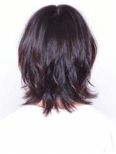 Haru Hair Studio (Haru Hair Studio) Mash Wolf * # peinadosasiaticos Source by tatitam Medium Shag Haircuts, Shag Hairstyles, Layered Haircuts, Medium Shaggy Bob, Hairstyles Videos, Celebrity Hairstyles, Wedding Hairstyles, Medium Hair Cuts, Short Hair Cuts