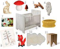 woodland nursery theme?