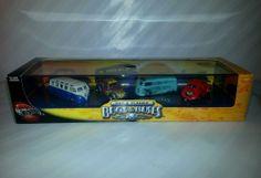 100% Hot Wheels Bugs & Buses Black Box Set VHTF! VW bus Hot & Classic