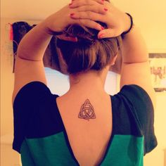 My celtic trinity knot. Celtic Trinity Knot, Celtic Knots, Celtic Symbols, Love Tattoos, Body Art Tattoos, I Tattoo, Tatoos, Celtic Knot Tattoo, Rainy Days
