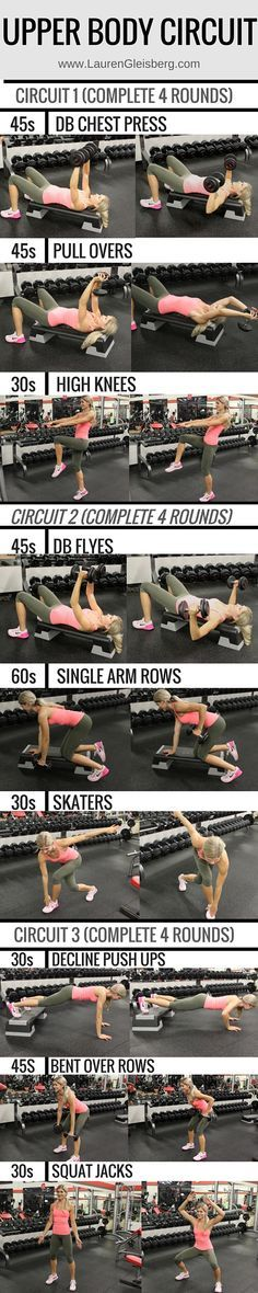 Chest + Back Workout | Posted By: AdvancedWeightLossTips.com