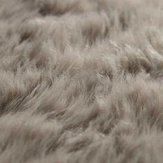 Tapis en peau de mouton beige 110 x ...