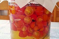 Tomatenessig 1 Vegetables, Recipes, Food, Vinegar, Tomatoes, Marmalade, Salads, Fruit, Recipies