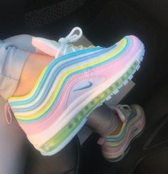 Unicorn Nike Air Max 97 Source by shoes air max Moda Sneakers, Cute Sneakers, Sneakers Nike, Green Sneakers, Girls Sneakers, Casual Sneakers, Souliers Nike, Sneakers Fashion, Fashion Shoes