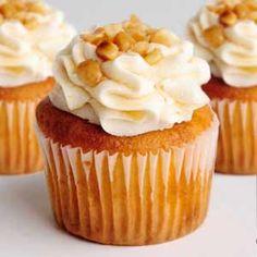 Cupcakes de Nueces de macadamia - Recetas de cupcakes fáciles