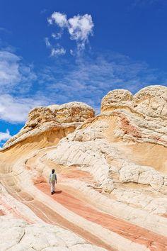 White Pocket Arizona - Sandstone Formations in Vermilion Cliffs National… New Orleans, New York, Las Vegas, Arizona Travel, Arizona Trip, Arizona Usa, Sedona Arizona, Travel Reviews, Roadtrip