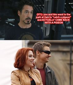 Texts from the Avengers