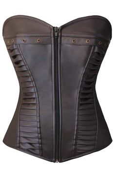 Take a closer look at our Atomic Brown Ladder Faux Leather Steam Overbust Corset. https://atomicjaneclothing.com/products/atomic-brown-ladder-faux-leather-steam-overbust-corset