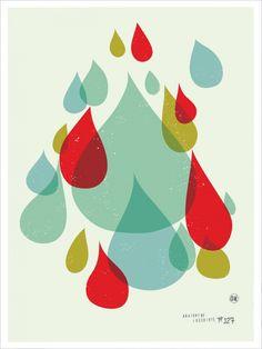 Rain, rain, rain.