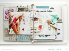 Blog: Video | Mixing it up in Your Project Life® Album with Stephanie Bryan - Scrapbooking Kits, Paper & Supplies, Ideas & More at StudioCalico.com!