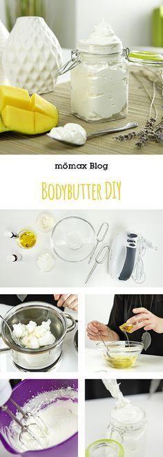Bodybutter selber machen DIY schnell und einfach!
